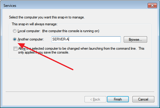Add remote servers