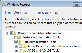 Install Remote Server Administration Tools