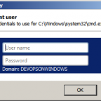 Enter Windows Credentials