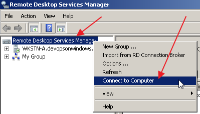 RDP Session Remote Viewer